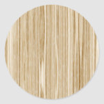 wood texture round stickers