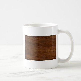 Wood Texture Rugged Construction Coffee Mug