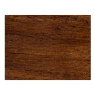 Wood Texture Rugged Construction Postcard