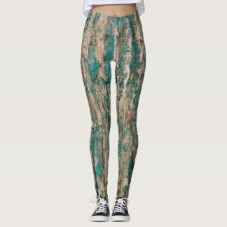 Wood Textured Leggings