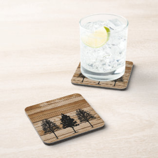 Wood Tree Coasters