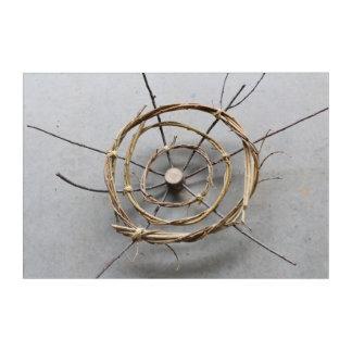 Wood & Vines Nature Art Sculpture Centered