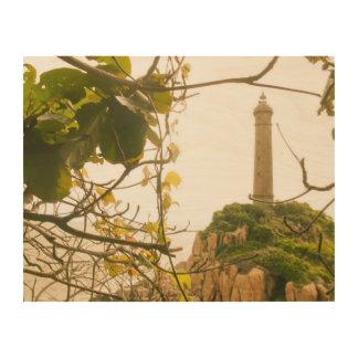 Wood Wall Art Vietnam Oldest Highest Lighthouse