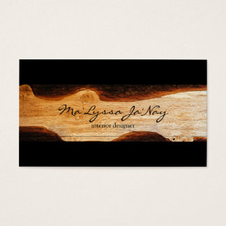 Wood Work business card
