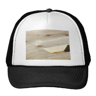 wood works trucker hat