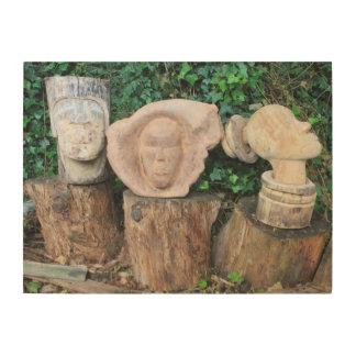 wood works on wood wood print