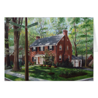 Woodberry Street (card) Greeting Card