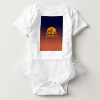Woodbooger Vintage Sunset Baby Bodysuit