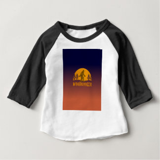 Woodbooger Vintage Sunset Baby T-Shirt