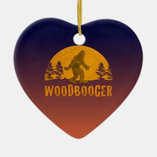 Woodbooger Vintage Sunset Ceramic Ornament