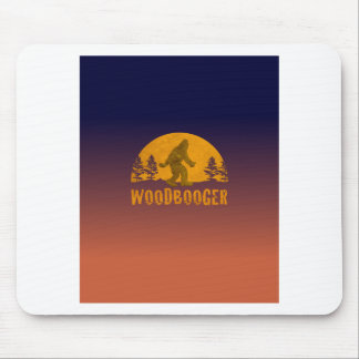 Woodbooger Vintage Sunset Mouse Pad