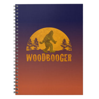 Woodbooger Vintage Sunset Notebooks