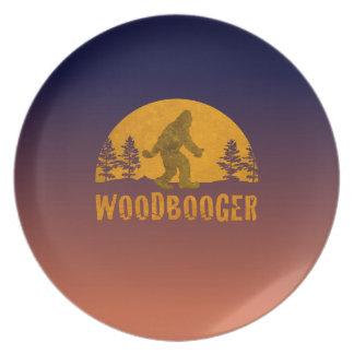 Woodbooger Vintage Sunset Plate