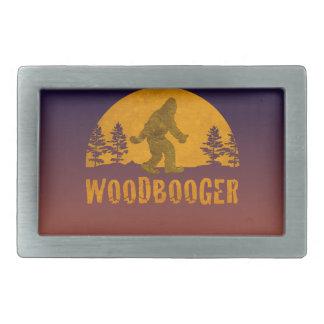 Woodbooger Vintage Sunset Rectangular Belt Buckle