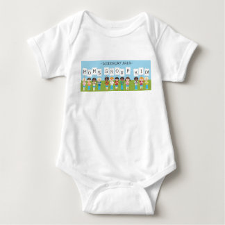 Woodbury Area Moms Group T-Shirt (snapped)