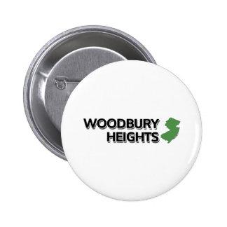 Woodbury Heights, New Jersey 2 Inch Round Button