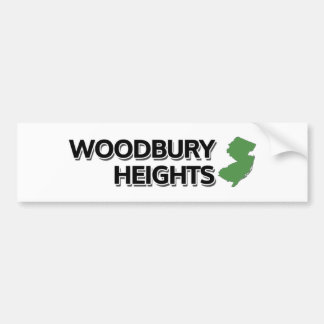 Woodbury Heights, New Jersey Bumper Sticker