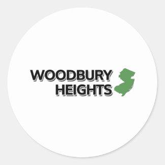 Woodbury Heights, New Jersey Round Sticker