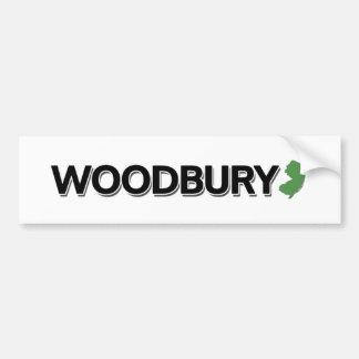 Woodbury, New Jersey Bumper Sticker