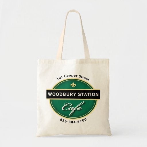 Woodbury Station Cafe Tote Bag