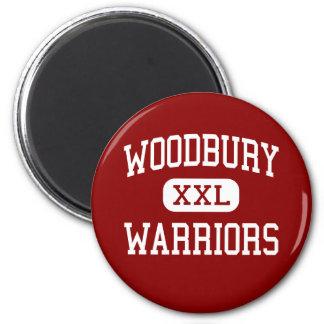 Woodbury - Warriors - Middle - Salem New Hampshire 2 Inch Round Magnet