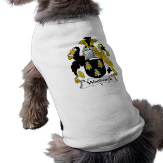 Woodcock Family Crest Pet T-shirt