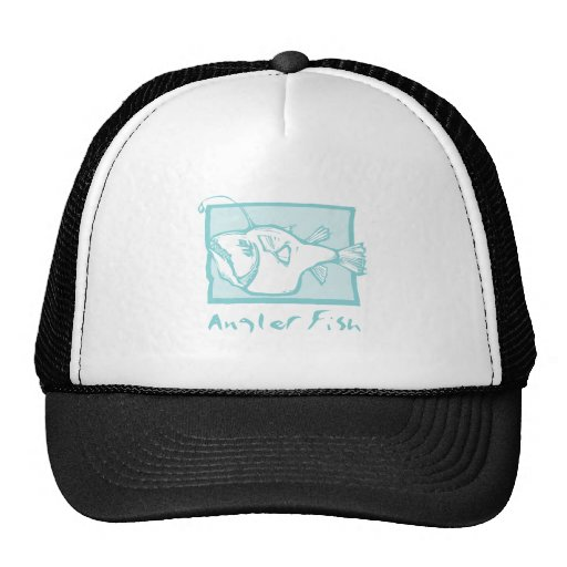 Woodcut Anglerfish Hat