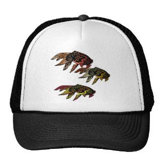 Woodcut Goldfish Trucker Hat