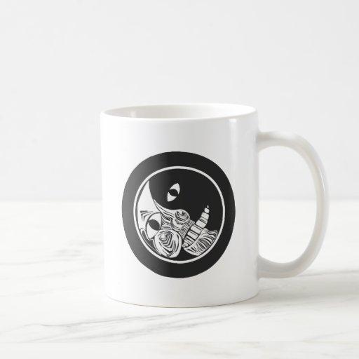 Woodcut Moon Coffee Mug