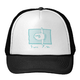 Woodcut Sunfish Trucker Hat