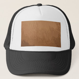 Wooded Brown Background Trucker Hat