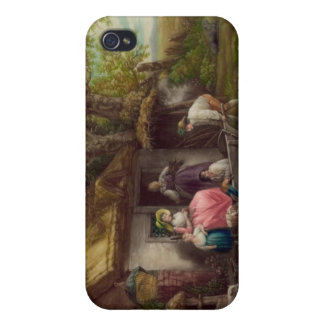 Wooded Cottage iPhone 4 Case