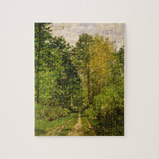 Wooded Path, 1865 (oil on canvas) Puzzles