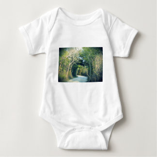 Wooded Path Baby Bodysuit