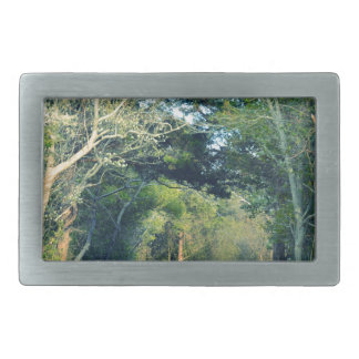 Wooded Path Belt Buckles