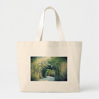 Wooded Path Large Tote Bag