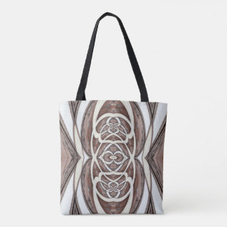 Wooden Abstract 1 Tote Bag