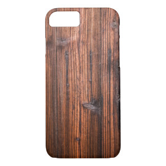 Wooden Apple iPhone 7, Barely There Phone Case