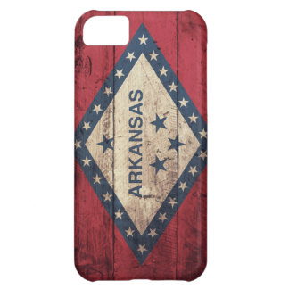 Wooden Arkansas Flag iPhone 5C Cover