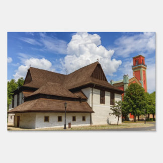 Wooden articular church in Kezmarok, Slovakia