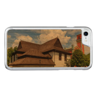 Wooden articular church in Kezmarok, Slovakia Carved iPhone 7 Case
