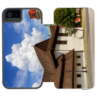 Wooden articular church in Kezmarok, Slovakia Incipio Watson™ iPhone 5 Wallet Case