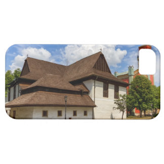 Wooden articular church in Kezmarok, Slovakia iPhone 5 Covers