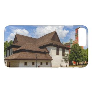 Wooden articular church in Kezmarok, Slovakia iPhone 8 Plus/7 Plus Case