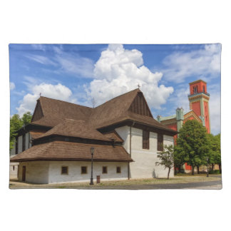 Wooden articular church in Kezmarok, Slovakia Placemat