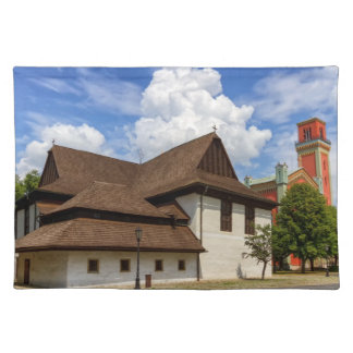Wooden articular church in Kezmarok, Slovakia Placemats