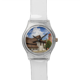 Wooden articular church in Kezmarok, Slovakia Wristwatch