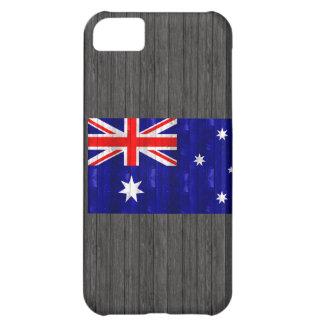 Wooden Australian Flag iPhone 5C Cover