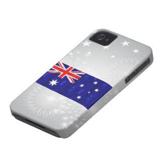 Wooden Australian Flag iPhone 4 Cover