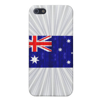 Wooden Australian Flag iPhone 5 Covers